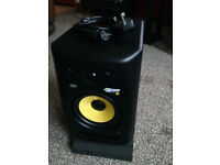 KRK's Rokit G2 (Generation 2). Auralex Acoustic Foam MoPads Inc.