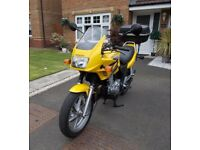 Honda CB500S in great condition for year. Lots of money spent and work done