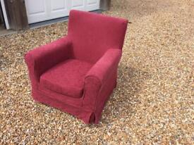 Small persons armchair