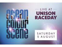Ocean colour scene Doncaster racecourse
