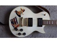 Les Paul copy Pistols tribute, £125 no offers;
