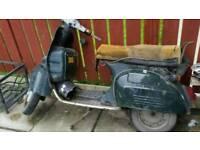 Baja 125 scooter