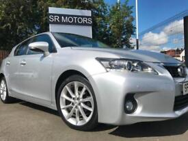 2013 Lexus CT 200h 1.8 ( 136bhp ) CVT Luxury(GOOD HISTORY,WARRANTY)