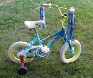"Girls Annabelle  bike with 12.5 "" tires by Ross"