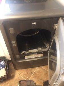 Washing machine and gas dryer