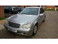 Mercedes Benz c200 automatic one year mot great conditions