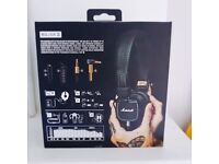 NEVER USED - Marshall Headphone - MAJOR II, BLACK