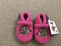 Haflinger baby slippers