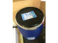 Blue storage containers 125lts