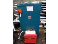 Warm flow 50/90 BTU Boiler, Riello Burner. In perfect working order