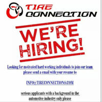 Tire Technician needed good pay great Team @ Tire Connection