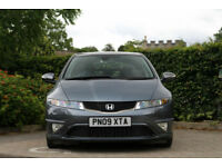 2009 Honda Civic 1.8i-VTEC FULL AUTOMATIC CAR ES GT SAT NAV & PAN ROOF