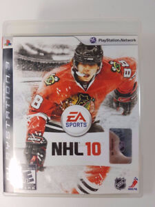 NHL-EA Sports-PS3/Blu-ray game-Very good condition
