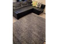 2 Rugs 160*220: dark grey California and b. Cleared red Ontario!! ONLY RED LEFT