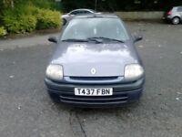 Renault Clio 1.1 1999 T reg blue
