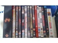 Various DVD's & Blu-Ray