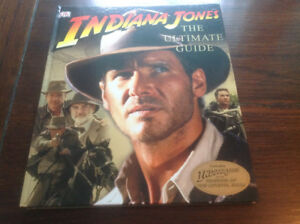 """INDIANA JONES """" THE ULTIMATE GUIDE"""" ( HARDCOVER)"""