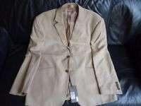 Men's John Lewis Linen Jacket - Brand New with tags. Size 44 R