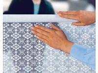 Lace Effect Window Shield