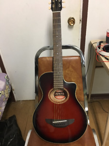 Yamaha APXT2 3/4 Size Acoustic Electric Guitar with case