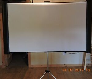MUST SELL! Epson Accolade Duet Ultra Portable Projection Screen