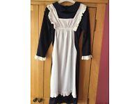 Girls Victorian maid costume.