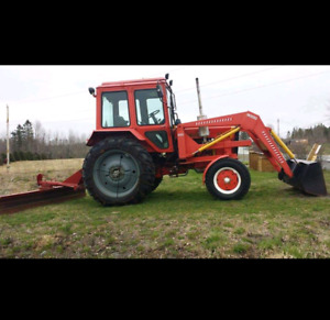 65hp Belarus Tractor Only 2100 hours