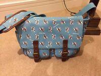 Anna Smith Bulldog Messenger Bag