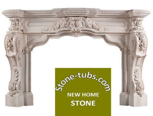 Marble fireplace mantel high quality customize available