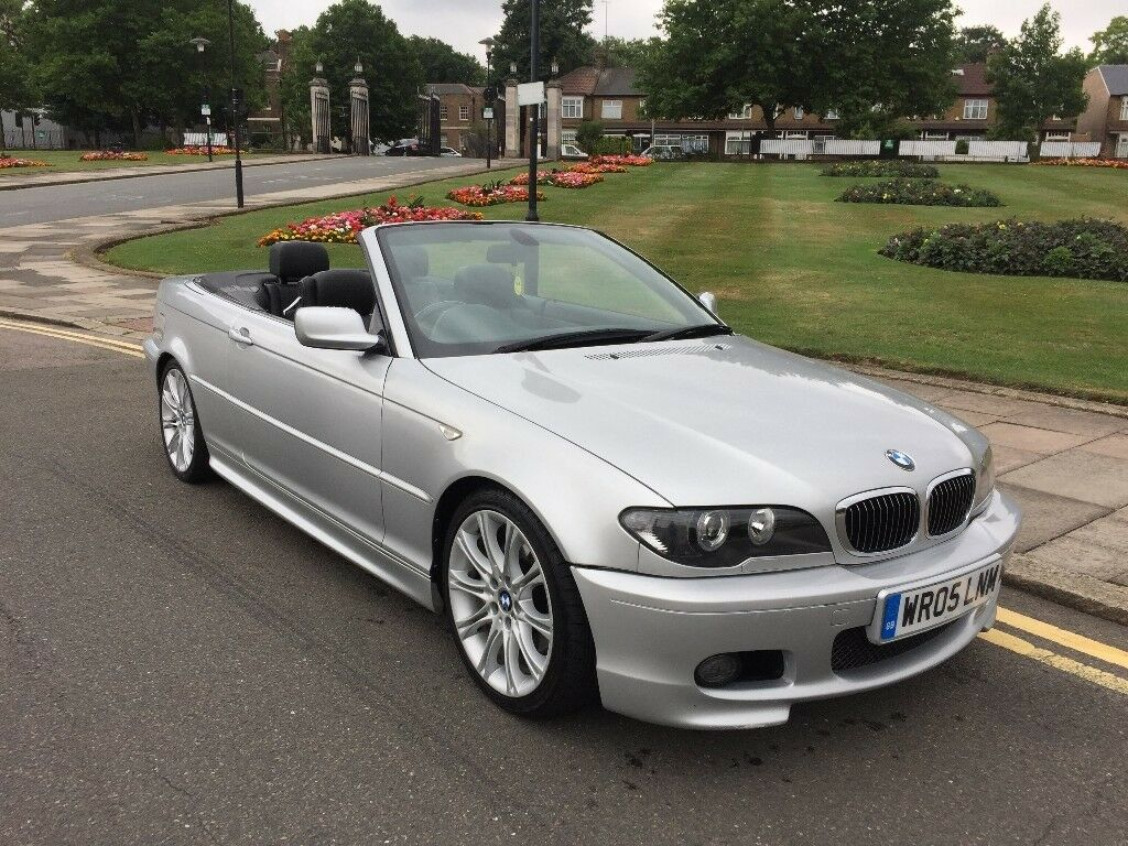 05 reg bmw 330ci m sport convertible facelift auto sat nav. Black Bedroom Furniture Sets. Home Design Ideas