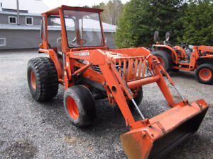 Kubota L-3300 4x4 with loader ready to work$16,900.00