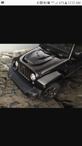 2017 Jeep Wrangler 75th anniversary