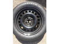 New wheel and tyre for sale