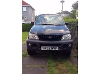 Daihatsu Terios 2002 1.3 Very Reliable MOT 11/17