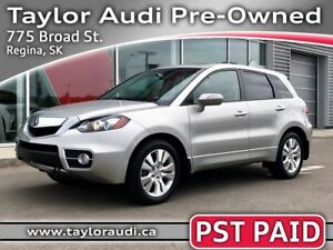 2012 Acura RDX LOCAL TRADE, PST PAID, REAR DVD, NAV, REARVIEW...