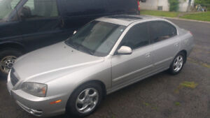 2005 Hyundai Elantra with E-test price is firm at $1500