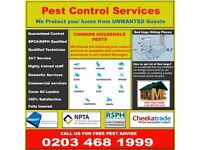 Affordable Residential&Commercial Pest Control Services Bed Bugs Flea Cockroaches Mice in Redbridge