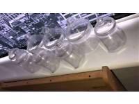 11 Plastic Sweet Jars