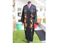 Dragon design silk Kimono