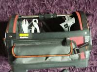 Stanley fatmax tool bag and hand tools