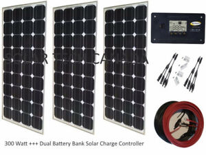 Solar Tech 300W 12V Mono-Crystalline Solar Bundle Kit