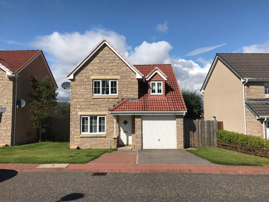 3 bed detached house with garage in inverness highland for Homes with detached garage