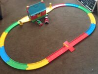 Thomas the tank engine train set with two trains