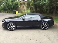 BENTLEY V8s carbon fibre interior with full black out exterior mint condition full service history