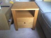 2 Bedside Tables For £30
