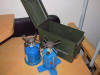 2 Camping Gas burners