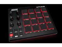 Akai MPD218 MIDI USB Production Pad Controller.