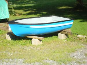 Blue Rowboat / Dinghy