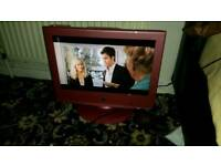 Neen 19 inch screen hd lcd free view and dvd tv £ 25
