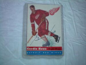 recherche vieilles cartes de hockey